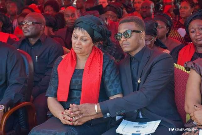 PHOTOS: Tears flow as Major Mahama goes home