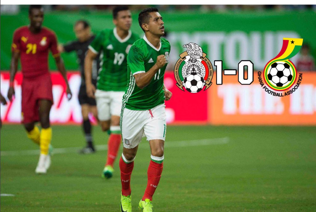 Mexico pip new look Black Stars in international friendly-MATCH REPORT