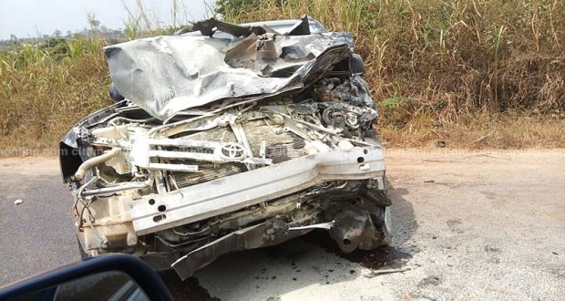 2 kids, 9 others die in gory accident on Bole-Bamboi road
