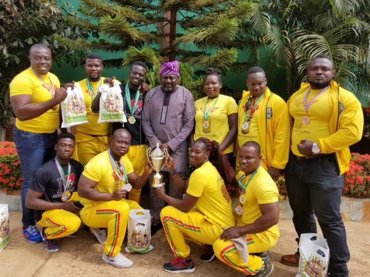 TT Brothers donates GH¢20,000 to Golden Arms