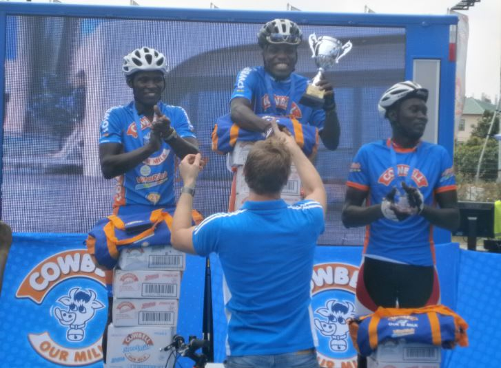 19 year old Frank Akufo scoops Cowbell Cycling Challenge