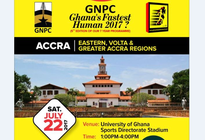 GNPC Ghana's Fastest Human Storms Legon On Saturday With Fireworks