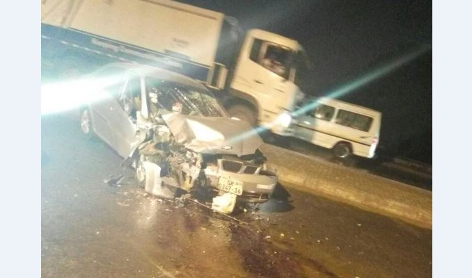 PHOTOS: Ghana Under-17 team manager involved in gory accident