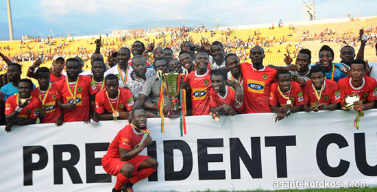 MATCH REPORTS: Kotoko beat Hearts to lift President Cup