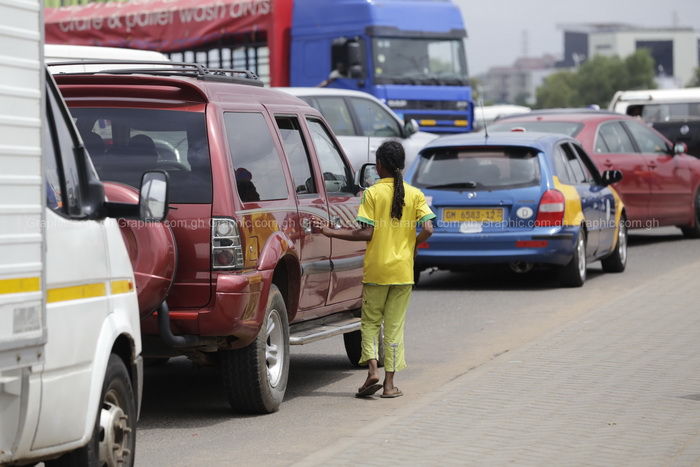 Child beggars invade Accra