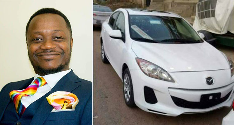 Prophet Babu Kobi gives out 2nd car in three days; Minister Sarkodie latest to benefit