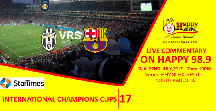 Happy FM To Deliver Live Commentary For International Champions Cup