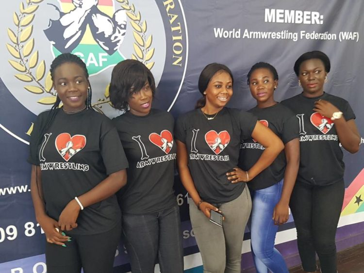 ARMWRESTLING TRAIN HITS ACCRA ACADEMY ON SATURDAY