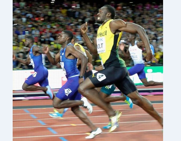 Stride by stride: A look at Usain Bolt's last 100-meter final