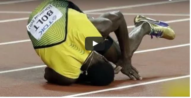 VIDEO: See How Usain Bolt's Final Race Ended In Agony