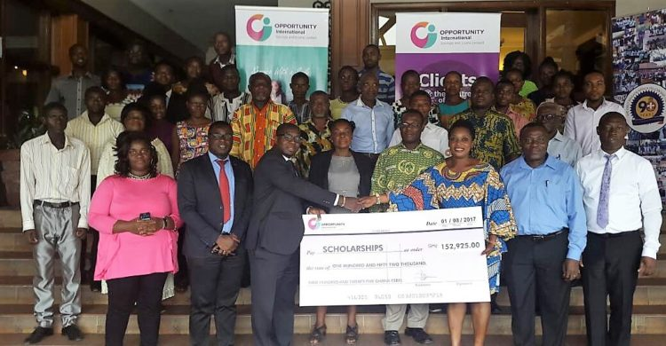 Opportunity International grants scholarship to 180 pupils