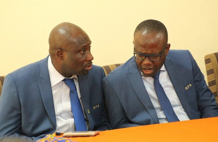 Nyantakyi and George Afriyie ready to work together after Sports Minister resolves feud
