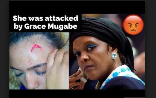 Robert Mugabe's wife on the run after beating up model in South Africa