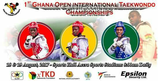 GHANA OPEN INTERNATIONAL TAEKWONDO CHAMPIONSHIP LAUNCHED