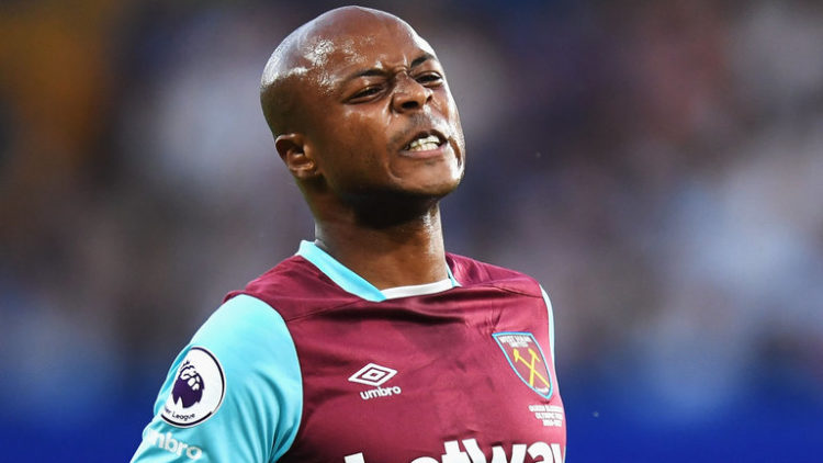 Andre Ayew and Teammates jabbed by boss after Newcastle loss