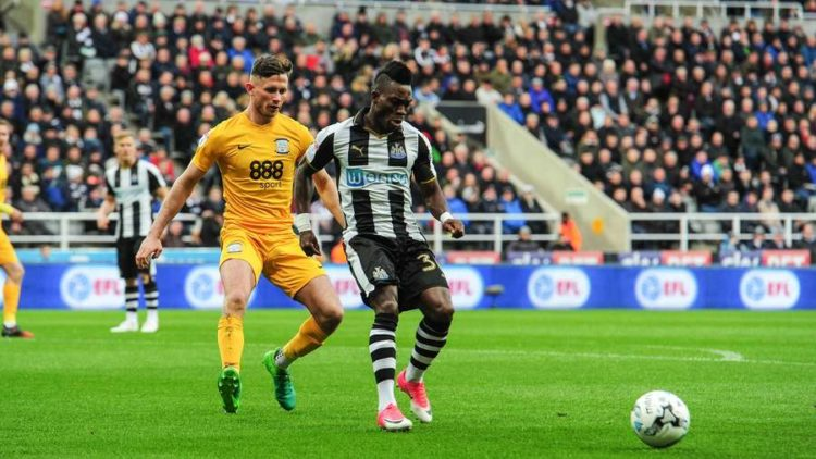 Christian Atsu hailed by Newcastle United fans as the star performer Tottenham loss