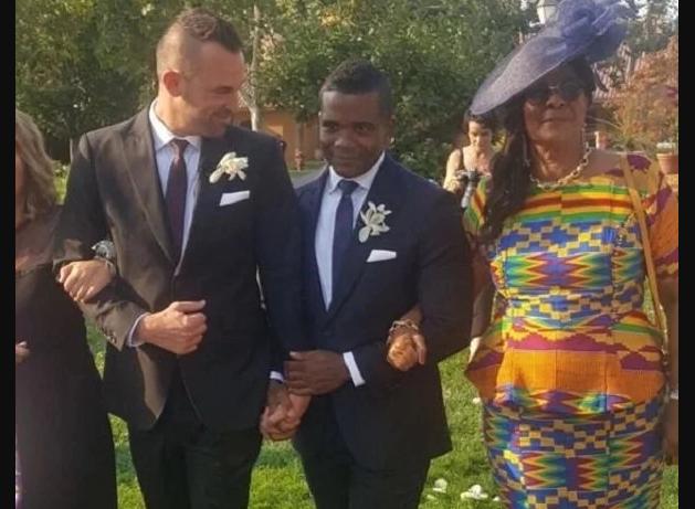 Former school prefect of Achimota School marries gay lover in America