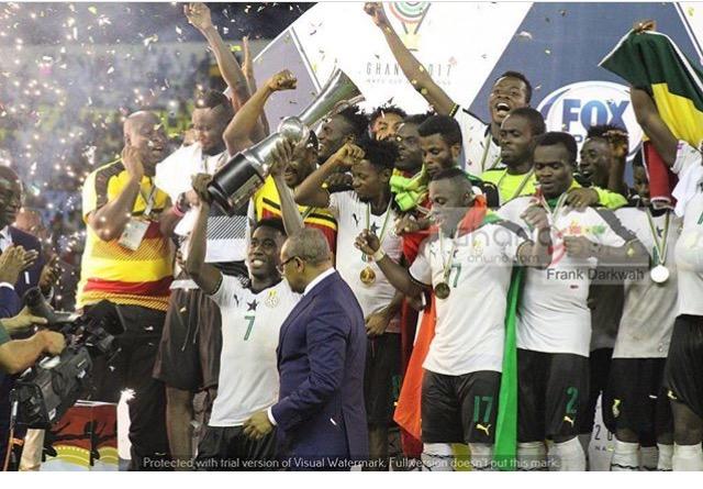 Black Stars B Whitewash Nigeria To Win 2017 WAFU Trophy