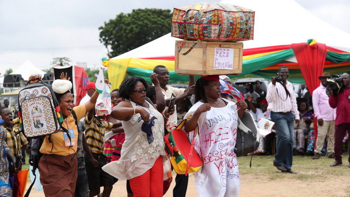 Akufo-Addo launches Free SHS Policy