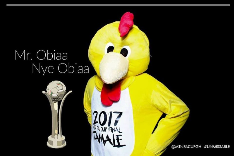Trophy, mascot arrive in Tamale to a rapturous welcome