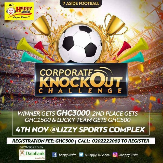Mad Rush For Happy FM Corporate Knockout Challenge