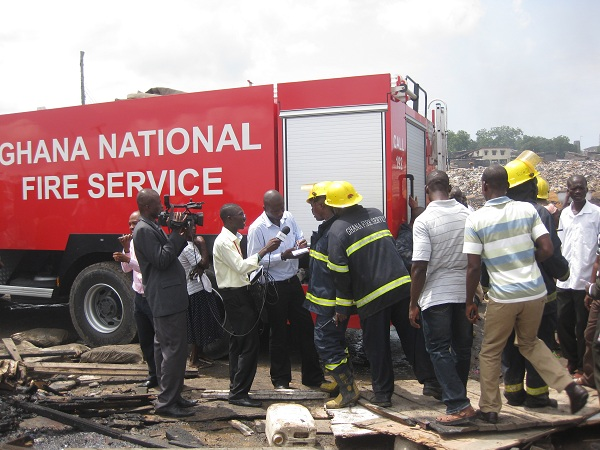 Fire Service to supervise gas offloading processes