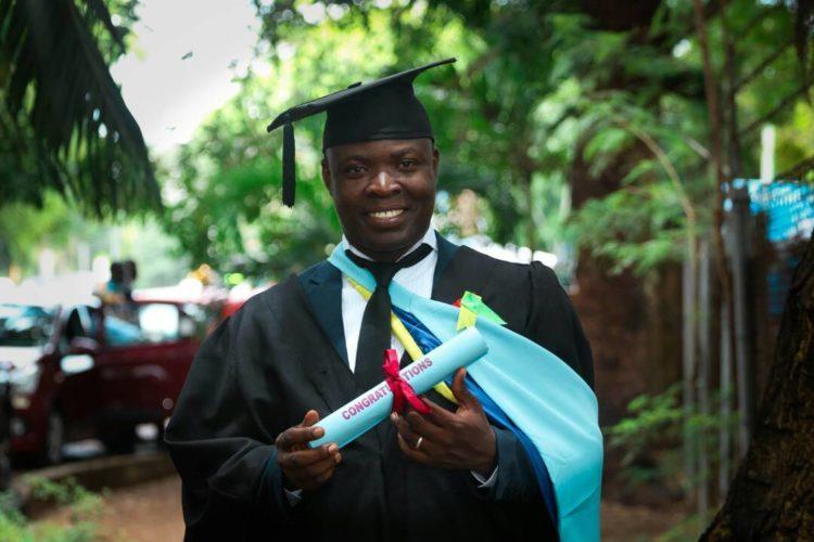 PHOTOS: Happy FM's Nyansa Boakwa Graduates From GIJ