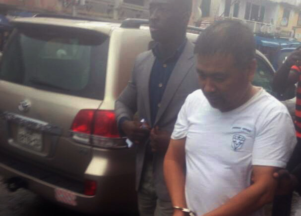 Chinese man remanded for alleged murder of a Ghanaian