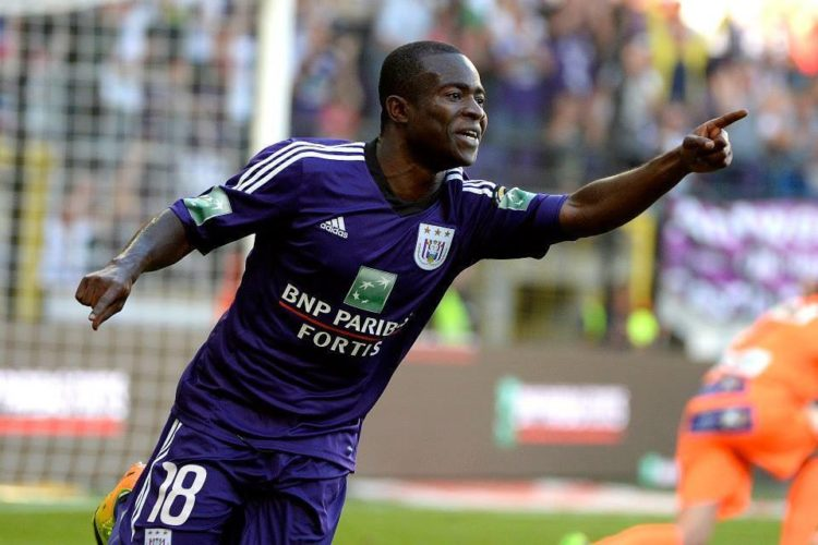 Chinese side Tianjin Teda seek to make loan deal permanent for Anderlecht star Frank Acheampong