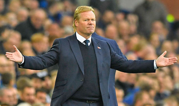 Everton Sack Manager Ronald Koeman
