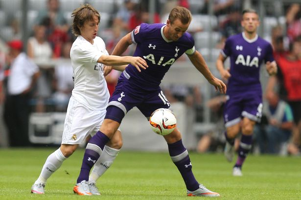 Tottenham Hotspurs tackle Real Madrid  tonight in the Champions League
