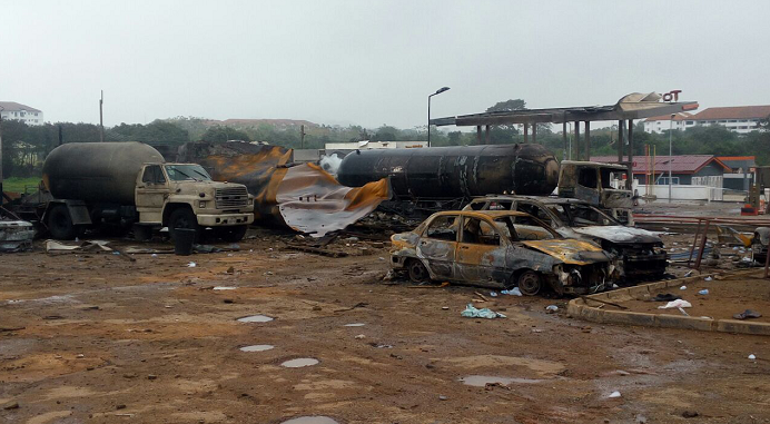 7 dead in Atomic Junction gas explosion...scores injured