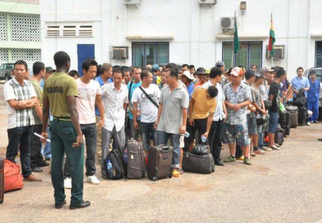 Chinese to take Ghana visas in Beijing?