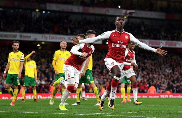 Who is Eddie Nketiah? Arsenal's 18-year-old prolific striker who saved their blushes in League Cup