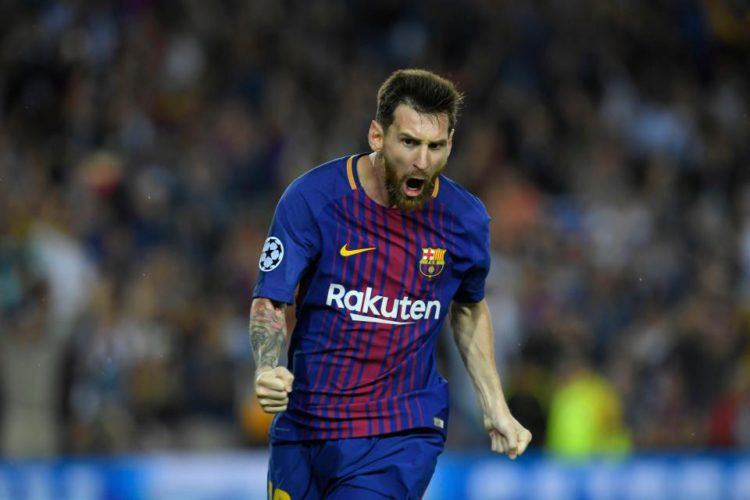 NOU DEAL Barcelona to hand Lionel Messi £80m bonus for signing £500,000-a-week contract.. and will sell Nou Camp naming rights to fund it