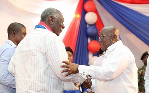 Akufo-Addo is my rightful successor – Kufuor