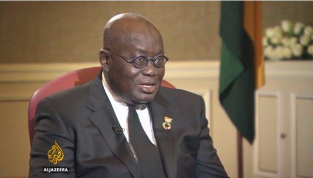 How Aljazeera reported Akufo-Addo's comments on homosexuality