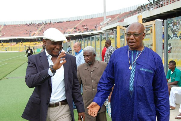 We're ready to face the current Hearts board boot for boot- Alhaji Hearts