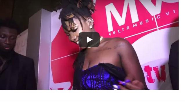 VIDEO: Ebony finally shows her V-jay in public