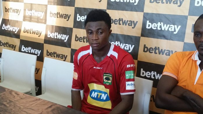 Kotoko set to trigger contract extension option for Emmanuel Gyamfi