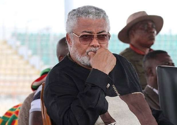 NDC left Ghana drowning in corruption – Rawlings