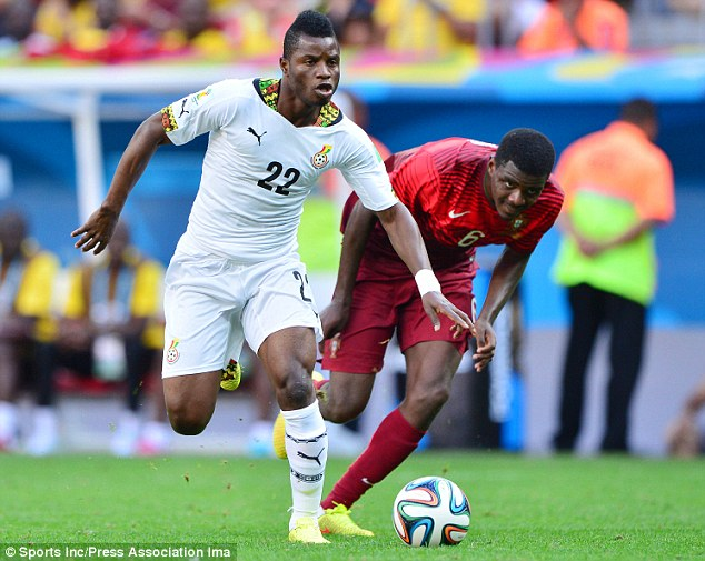Mubarak Wakaso content with Black Stars performance in Egypt stalemate