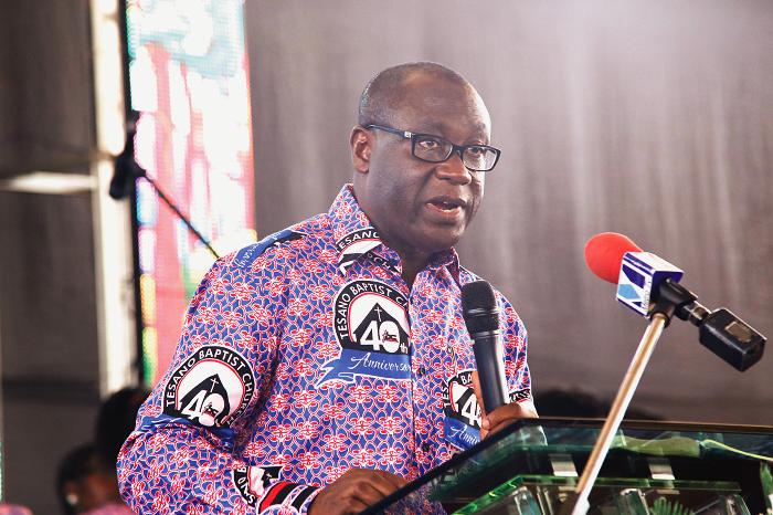 KUMACA students' population worrying –Bishop Adu Gyamfi