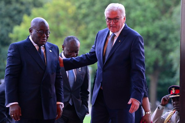 Germany's President visits Ghana today