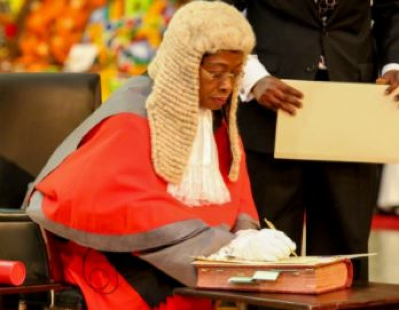 High court judge rendered homeless