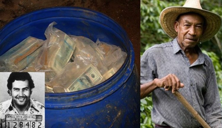VIDEO: Farmer finds $600 Million Buried In His Farm