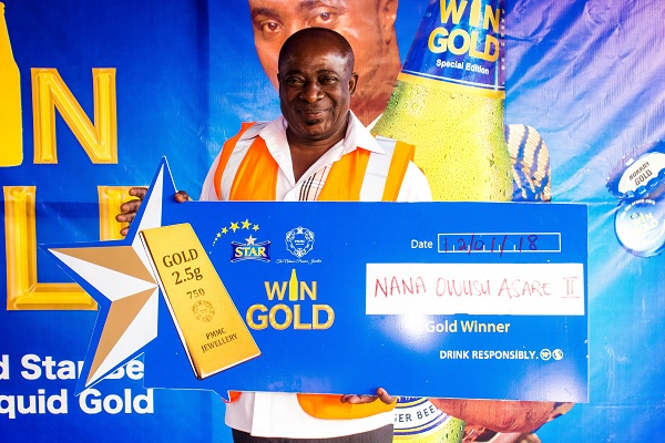 Over 100 Star Beer Consumers win Gold in the Star Win Gold Promotion