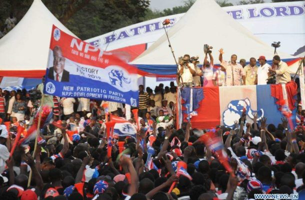 NPP Sets 21 to 24 April For Its Regional Elections