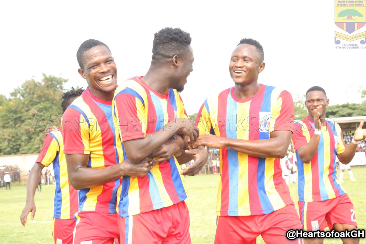2017/18 GPL: Hearts, Kotoko Draw Away In Week 1-Scorelines, Table & MOTM