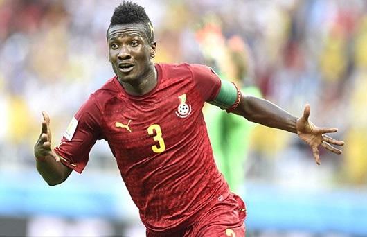 Asamoah Gyan feels honoured to be named 9th best active international footballer